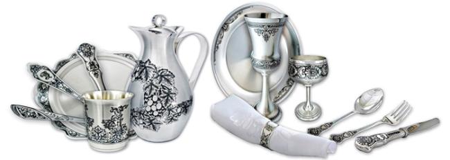 Столовое серебро — роскошь и отличное капиталовложение