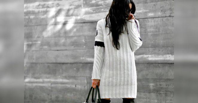 вязаные платья купить