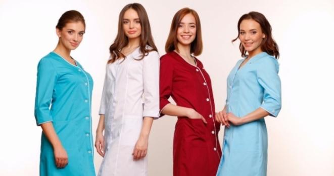 Где купить качественные медицинские халаты недорого?