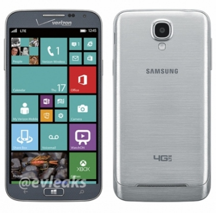 Samsung готовит высококлассный смартфон на Windows Phone